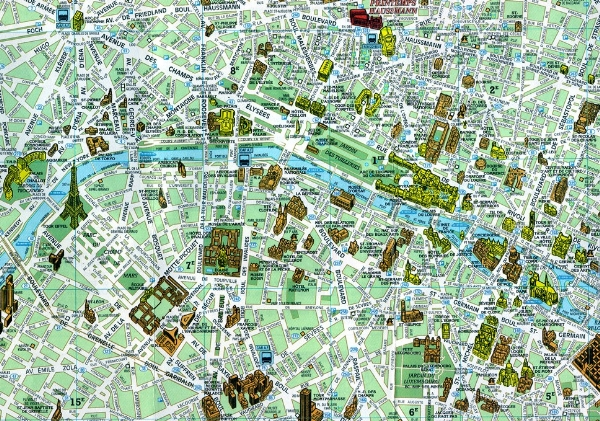 Mapa Mapa Pamatek Prahy