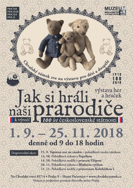 2737956_904697_Jak_si_hrali_nasi_prarodice JAK SI HRÁLI NAŠI PRARODIČE – výstava her a hraček k výročí 100 let československé státnosti